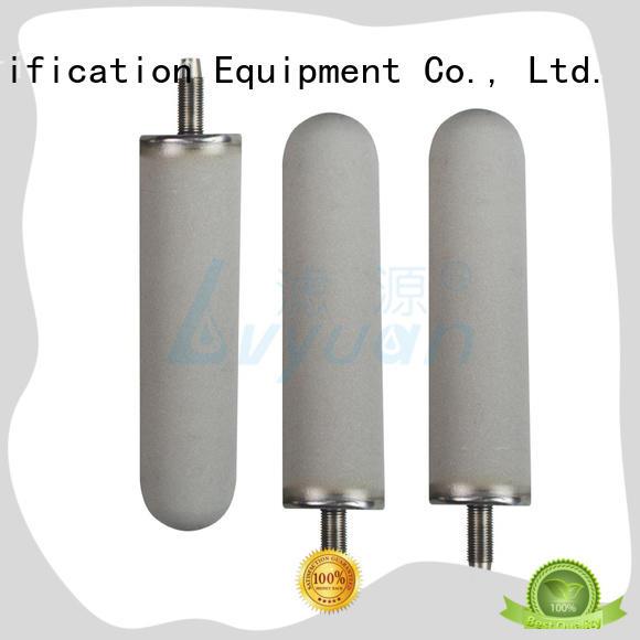 Lvyuan professional sintered metal filter supplier for industry