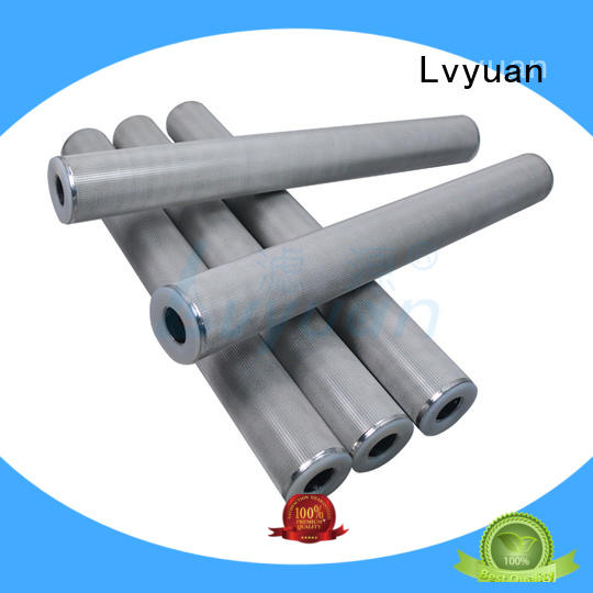 titanium ss sintered filter supplier for industry