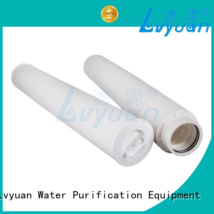 Lvyuan safe high flow water filter cartridge replacement for sale