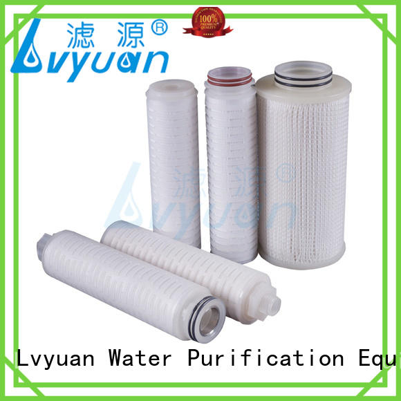 hot sale high efficiency pleated filters high quality for liquids sterile filtration Lvyuan