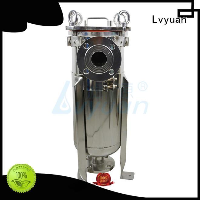 Lvyuan stainless stainless water filter housing fin manufacturer