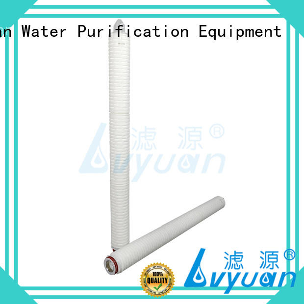 ptfe stainless filter Lvyuan Brand  manufacture