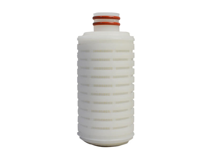 Lvyuan ptfe pleated filter cartridge with stainless steel for liquids sterile filtration-1