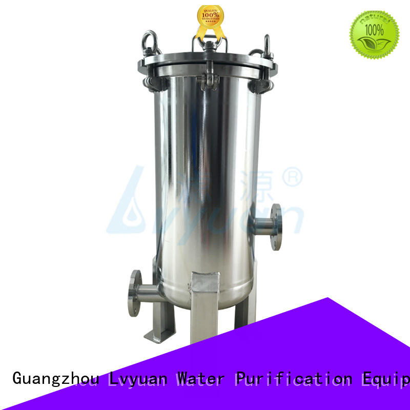filter ss bag filter housing steel sea Lvyuan
