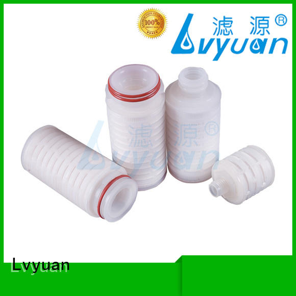 Lvyuan pleated water filters supplier for sea water desalination