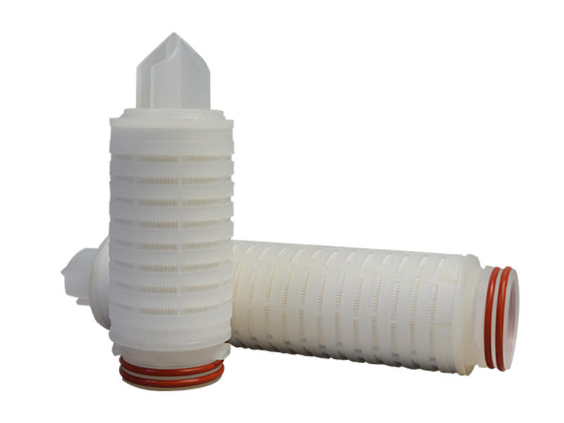 water pleated filter element supplier for liquids sterile filtration-2