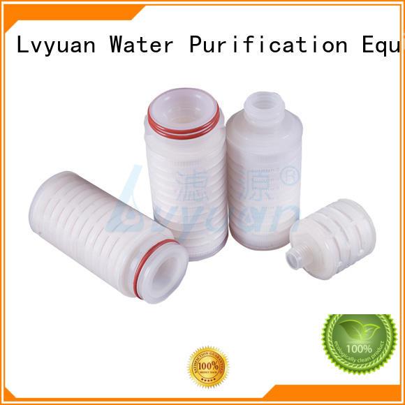 pleated filter cartridge supplier for diagnostics Lvyuan