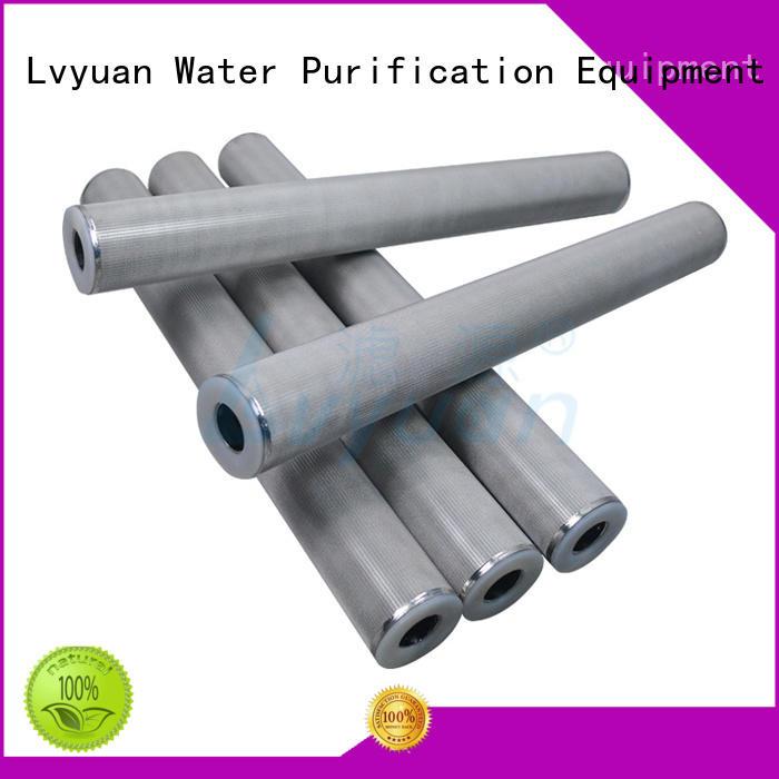porous sintered filter cartridge manufacturer for sea water desalination