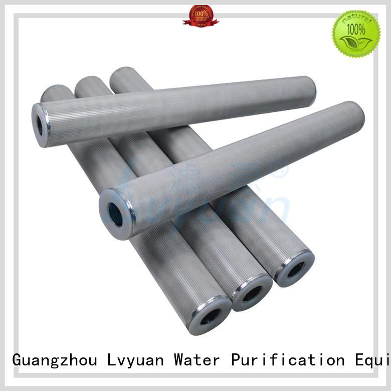 Lvyuan sintered metal filter elements rod liquid