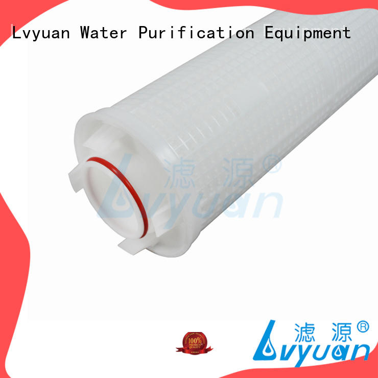 Lvyuan hi flow water filter cartridge manufacturer for sale