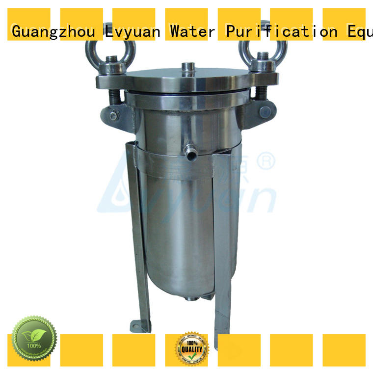 stainless steel cartridge filter housing steel fuel Lvyuan