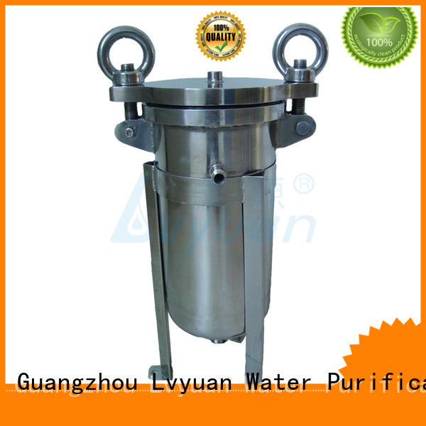 titanium stainless filter housing housing for sea water treatment