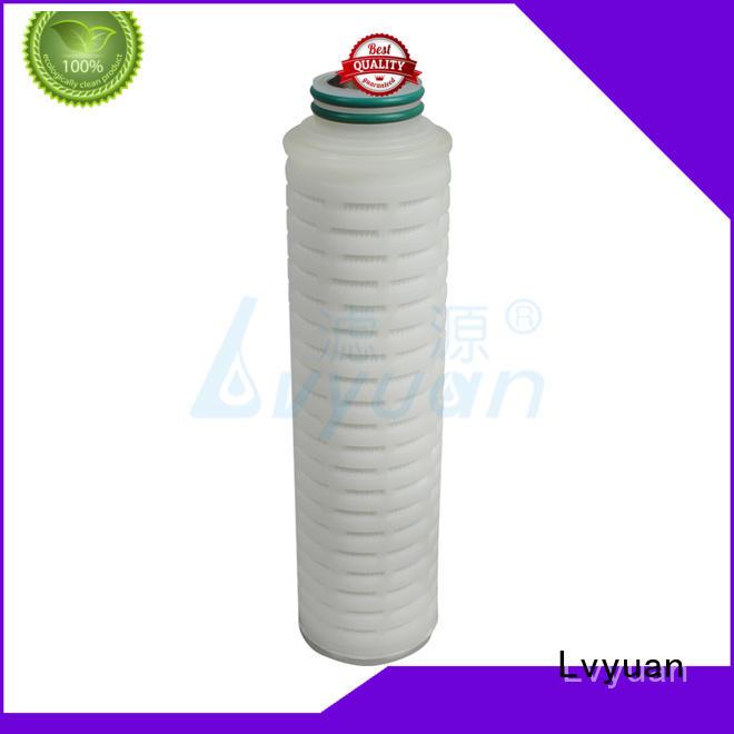 Lvyuan professional water filter cartridge manufacturer for industry