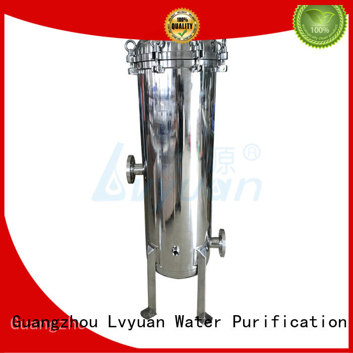 Lvyuan professional stainless steel cartridge filter housing with core for food and beverage