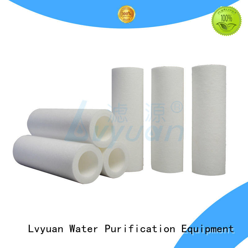 Lvyuan melt blown filter cartridge supplier for industry
