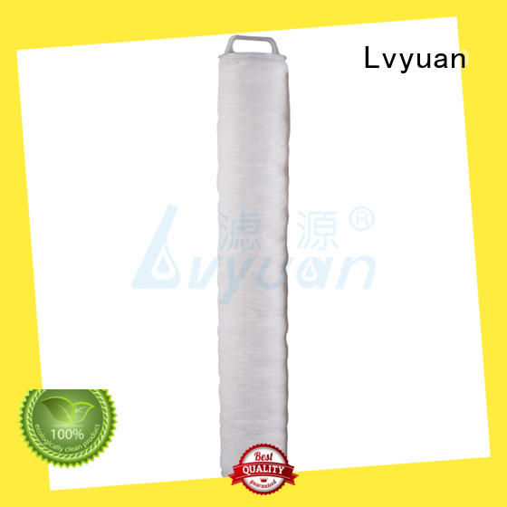 hi flow water filter replacement cartridge supplier for industry Lvyuan