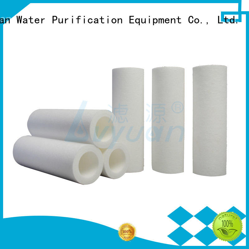 customized melt blown filter cartridge manufacturer for industry