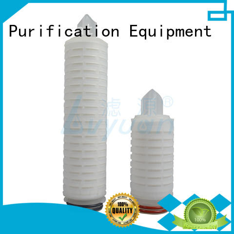 membrane pleated water filters supplier for industry