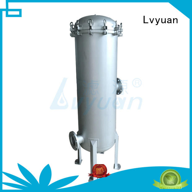 Lvyuan ss bag filter housing rod for industry
