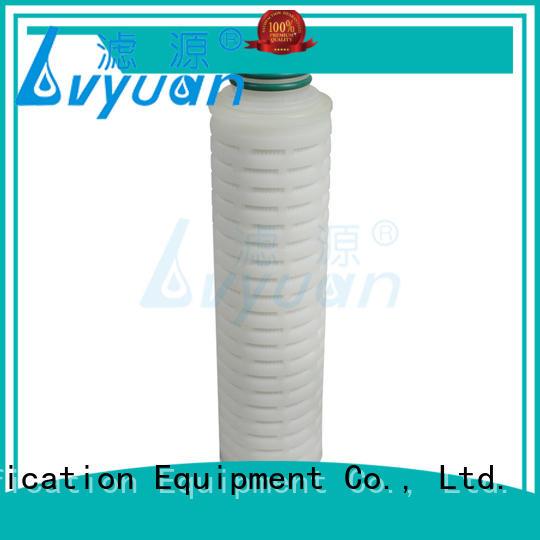 Lvyuan filter water cartridge supplier for sea water desalination