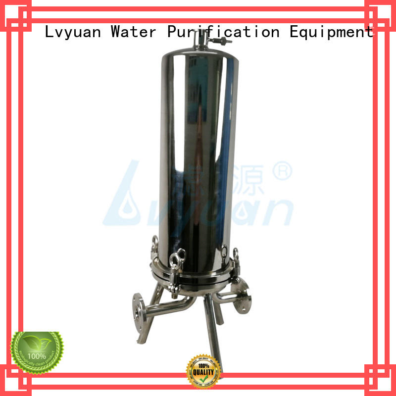 Lvyuan titanium bag filter housing best for sea water desalination