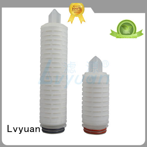 water pleated filter supplier for organic solvents