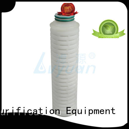 Lvyuan pleated filter replacement for organic solvents