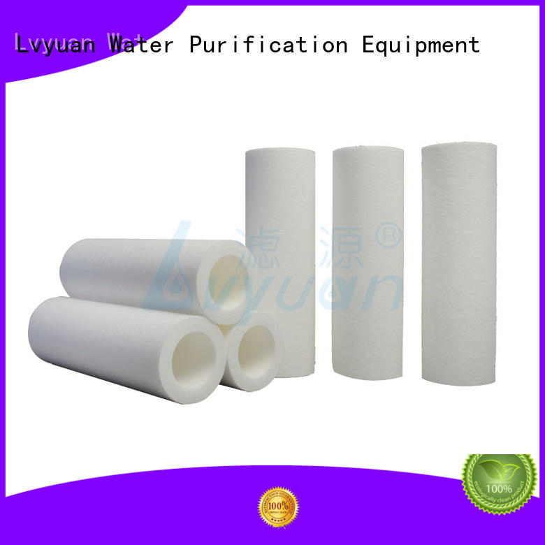 professional melt blown filter manufacturer for food and beverage