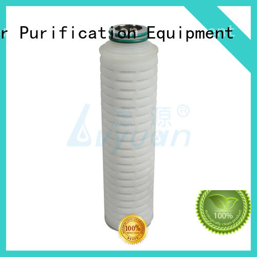 high quality pleated filter best for food and beverage Lvyuan